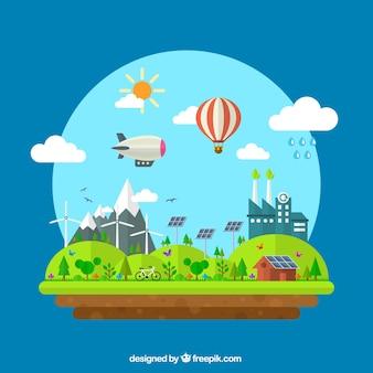 Eco paisagem