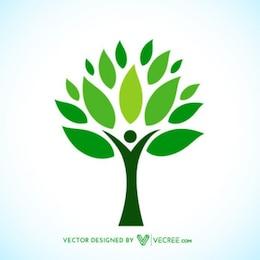 Ecologic Árvore Logotype