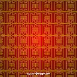 Editável padrão chinês