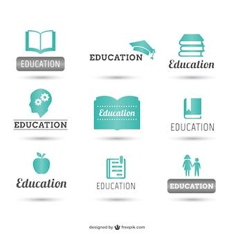 Pacote logos Educação