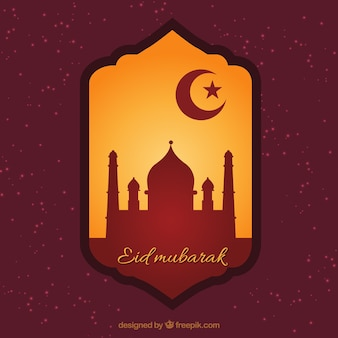 Eid Mubarak badge