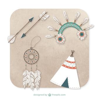 Elementos indígenas nativas