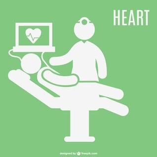Eletrocardiograma paciente do hospital