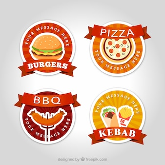 Emblemas de fast food