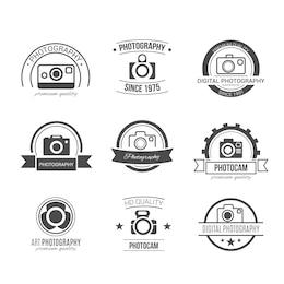 Emblemas fotografia Retro