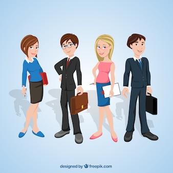 Empresários ilustração