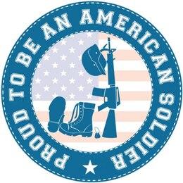 Engrenagem militar com a bandeira americana
