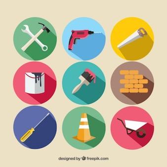 equipamento de construção