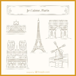 Esboços de Paris
