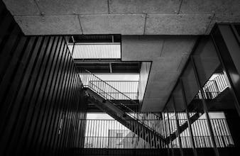 Escadaria exterior