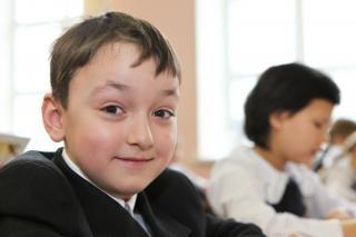 escola garoto menino