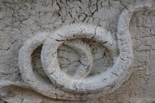 Escultura de cobra