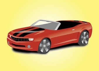 esporte conversível do carro