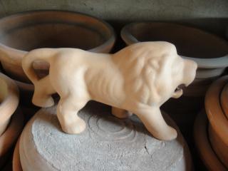 Estátua do leão, design
