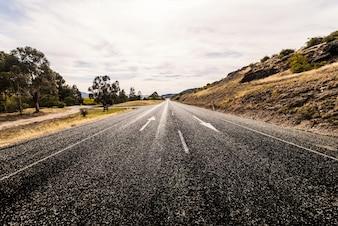 Estrada sem carros