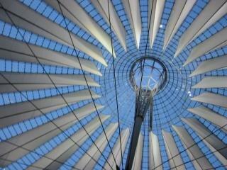 estrutura de telhado de vidro