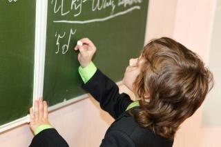estudante menino de escola