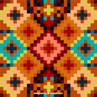 Ethnic fundo geométrico