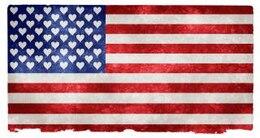 EUA amor grunge bandeira