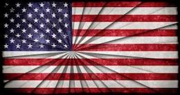 EUA grunge grungy bandeira