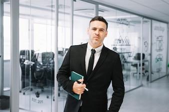 Executivo em companhia
