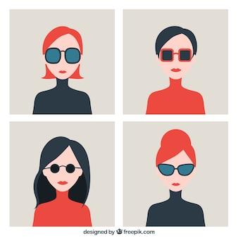 Mulheres elegantes