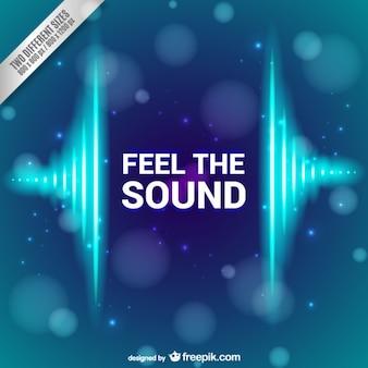 Sentir o som de fundo