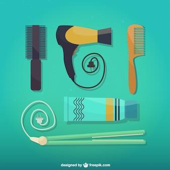 Ferramentas de cabeleireiro