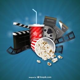 Filme e do cinema objetos