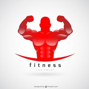 Logotipo do clube de fitness vetor