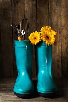Flor equipamentos celeiro terra outono