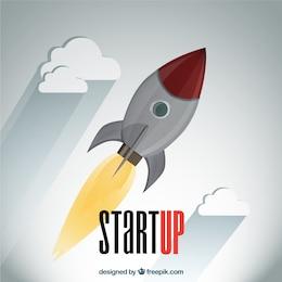 Foguete Startup