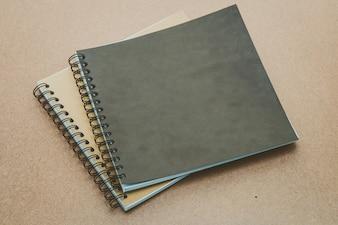 Folha de madeira molde livro maquete