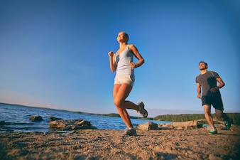 Formação Casal feliz para a maratona