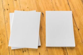 Formar uma folha de papel em branco