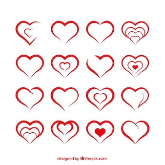 Formas do coração
