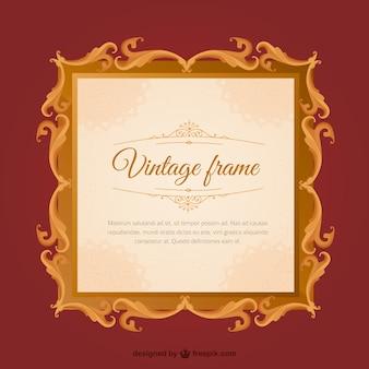 Frame decorativo do vintage