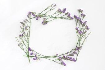 Frame floral decorativo