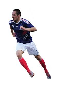 Franck Ribery, França Selecção