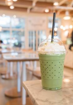 Frappe de chá verde