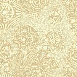 fundo abstrato do teste padrão floral sem emenda