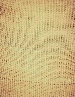 Fundo da tela de linho do vintage
