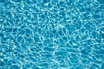 Fundo de água na piscina