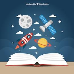 Fundo de educação espaço