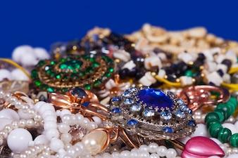 Fundo de jóias