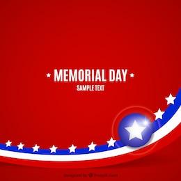 Fundo de memorial day
