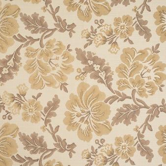 Fundo de tecido com padrão floral