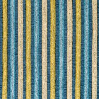 Fundo de textura de material de tecido têxtil listrado