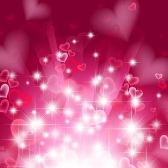 fundo do coração resumo em rosa