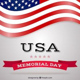 Fundo dos EUA Memorial Day